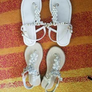 Fancy sandal!